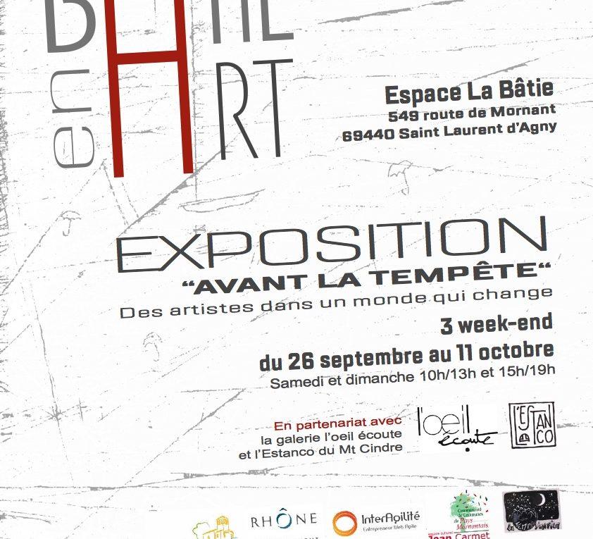 """Exposition """"avant la tempête"""""""